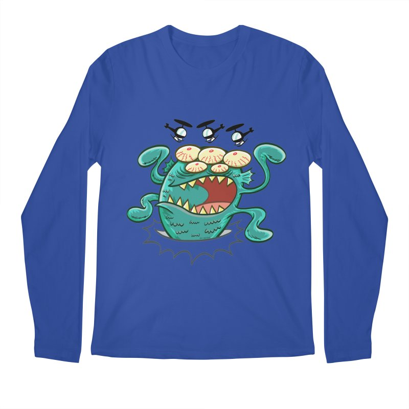 Hella-copters! by Art Baltazar Men's Longsleeve T-Shirt by Devil's Due Entertainment Depot