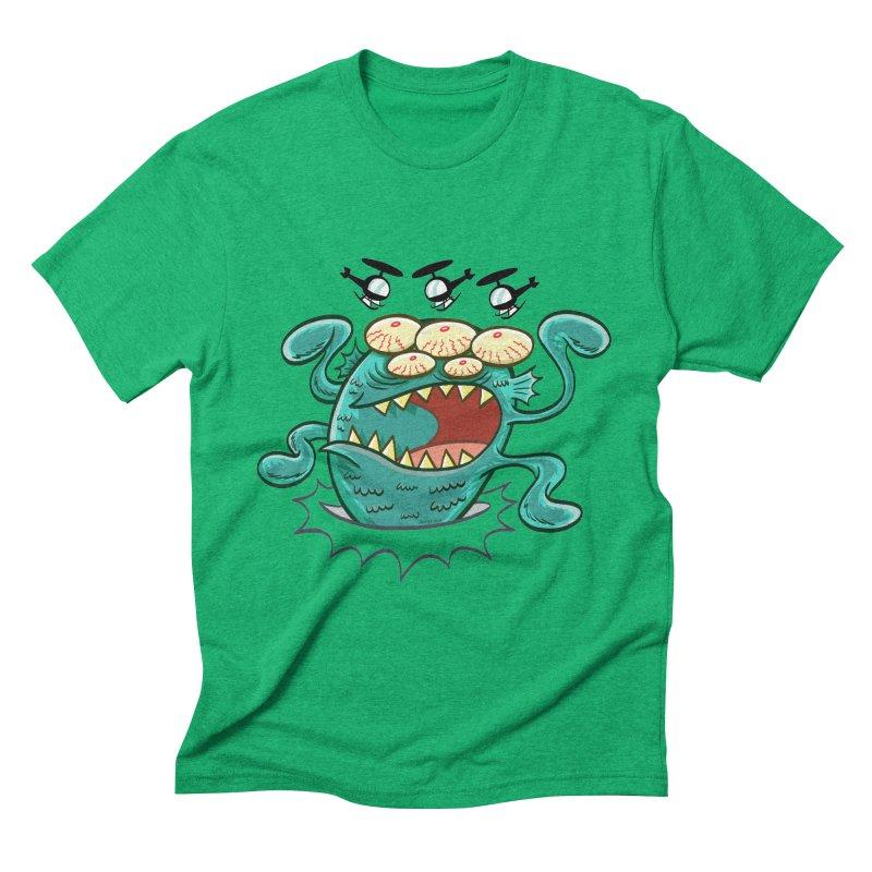 Hella-copters! by Art Baltazar Men's Triblend T-Shirt by Devil's Due Entertainment Depot