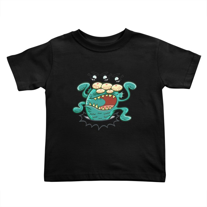 Hella-copters! by Art Baltazar Kids Toddler T-Shirt by Devil's Due Comics