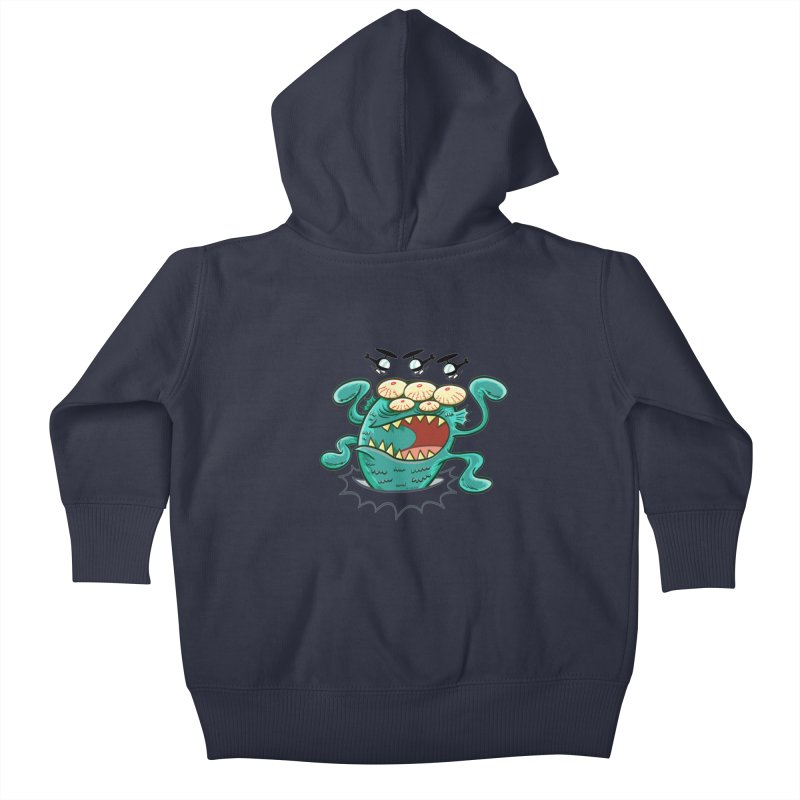 Hella-copters! by Art Baltazar Kids Baby Zip-Up Hoody by Devil's Due Entertainment Depot