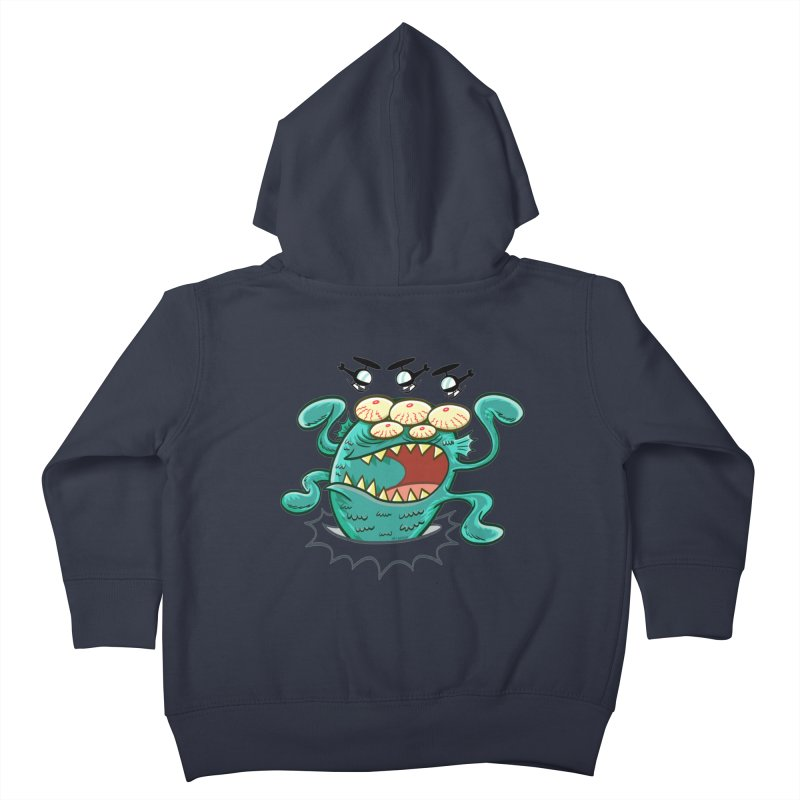 Hella-copters! by Art Baltazar Kids Toddler Zip-Up Hoody by Devil's Due Comics