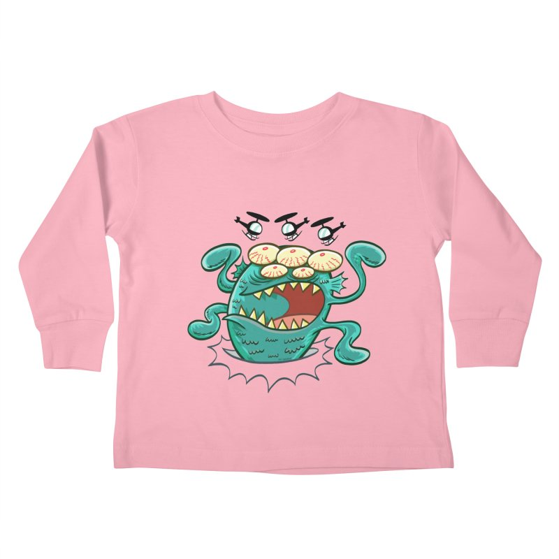 Hella-copters! by Art Baltazar Kids Toddler Longsleeve T-Shirt by Devil's Due Entertainment Depot