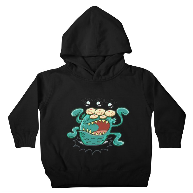 Hella-copters! by Art Baltazar Kids Toddler Pullover Hoody by Devil's Due Entertainment Depot