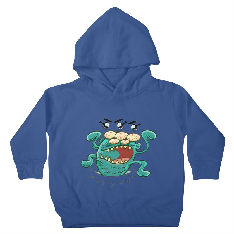 Hella-copters! by Art Baltazar Kids Toddler Pullover Hoody by Devil's Due Comics