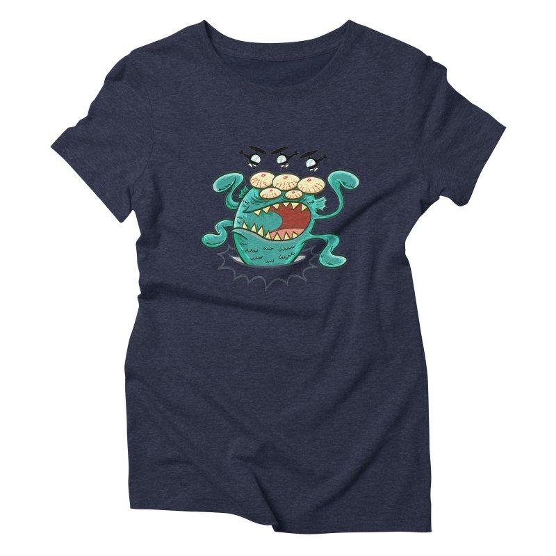 Hella-copters! by Art Baltazar Women's Triblend T-shirt by Devil's Due Entertainment Depot