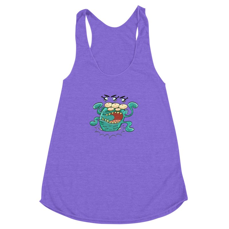 Hella-copters! by Art Baltazar Women's Racerback Triblend Tank by Devil's Due Entertainment Depot