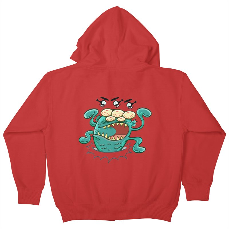 Hella-copters! by Art Baltazar Kids Zip-Up Hoody by Devil's Due Entertainment Depot