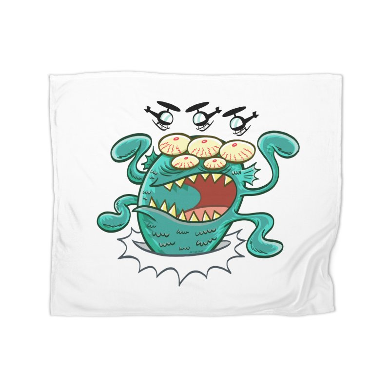 Hella-copters! by Art Baltazar Home Fleece Blanket Blanket by Devil's Due Comics