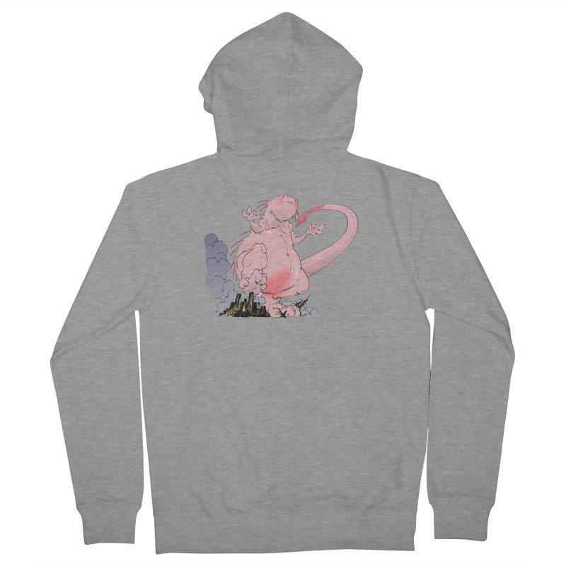 Kill 'em with Cuteness by Tim Seeley Men's French Terry Zip-Up Hoody by Devil's Due Entertainment Depot