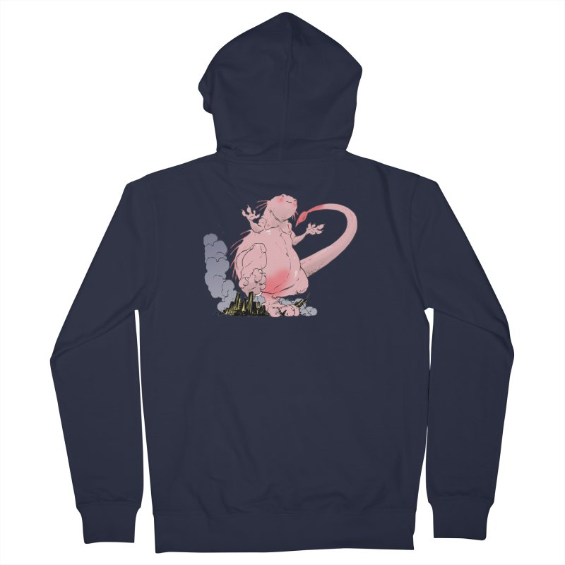 Kill 'em with Cuteness by Tim Seeley Men's Zip-Up Hoody by Devil's Due Entertainment Depot