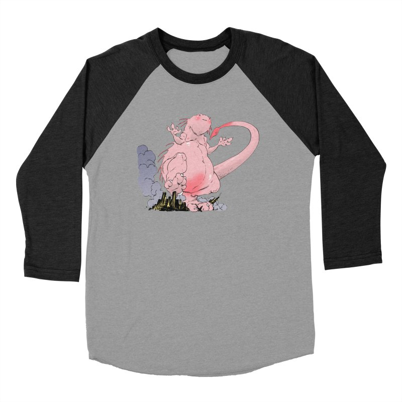 Kill 'em with Cuteness by Tim Seeley Men's Baseball Triblend Longsleeve T-Shirt by Devil's Due Entertainment Depot
