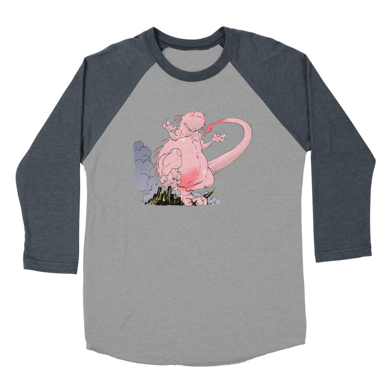 Kill 'em with Cuteness by Tim Seeley Men's Baseball Triblend T-Shirt by Devil's Due Entertainment Depot