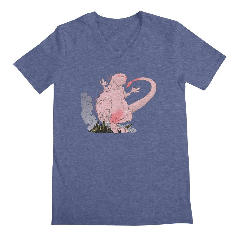 Kill 'em with Cuteness by Tim Seeley Men's Regular V-Neck by Devil's Due Comics
