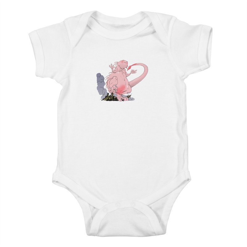 Kill 'em with Cuteness by Tim Seeley Kids Baby Bodysuit by Devil's Due Comics