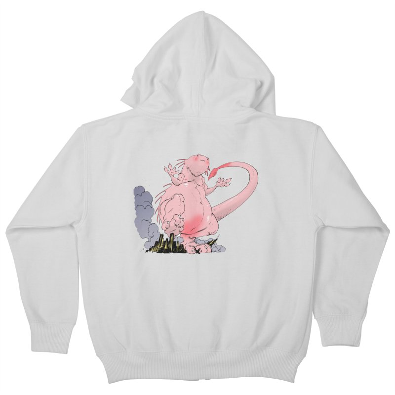 Kill 'em with Cuteness by Tim Seeley Kids Zip-Up Hoody by Devil's Due Entertainment Depot