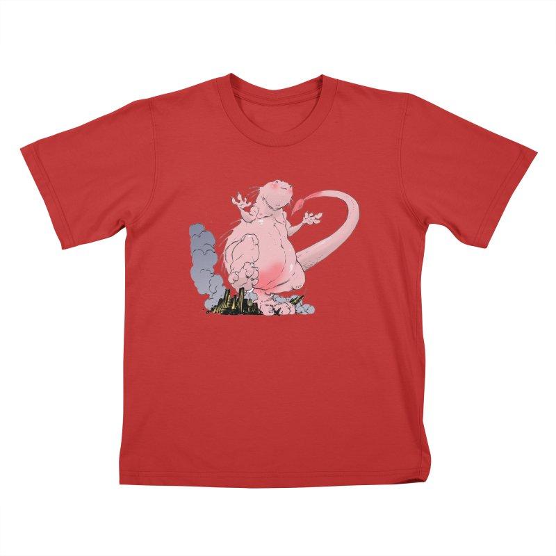 Kill 'em with Cuteness by Tim Seeley Kids T-Shirt by Devil's Due Comics