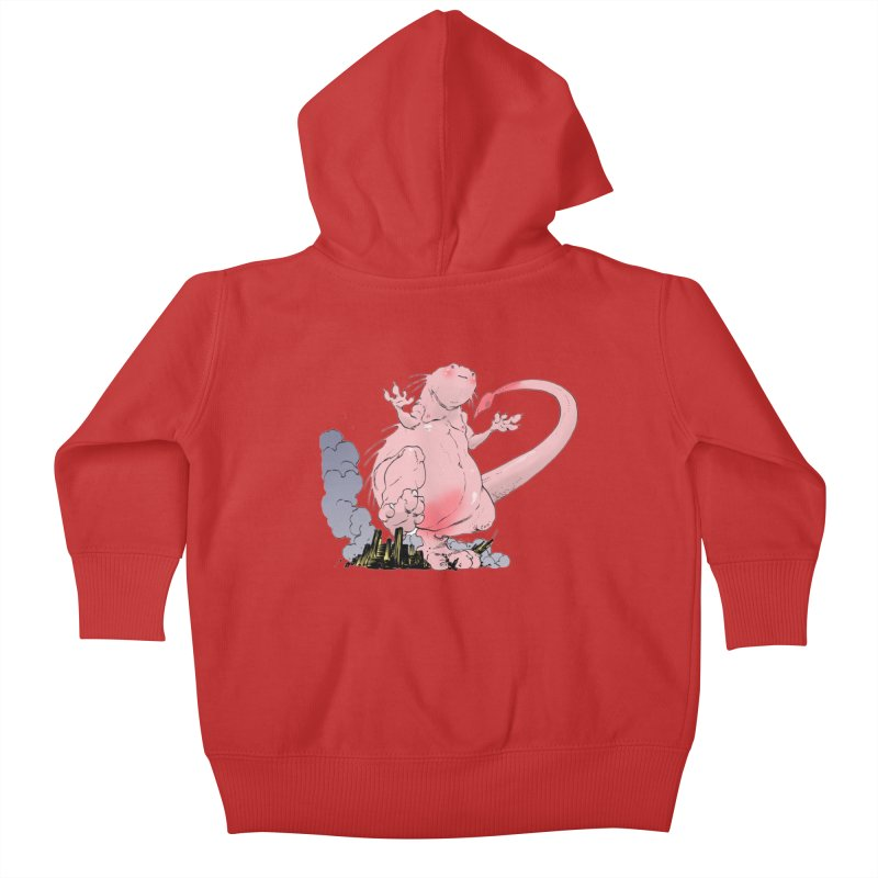 Kill 'em with Cuteness by Tim Seeley Kids Baby Zip-Up Hoody by Devil's Due Comics