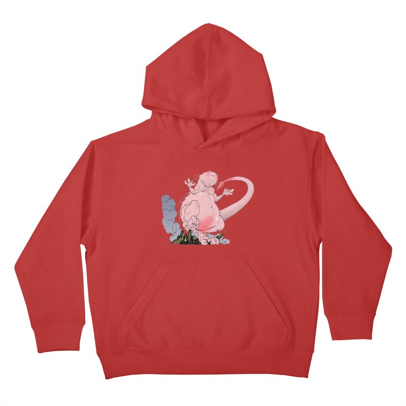 Kill 'em with Cuteness by Tim Seeley Kids Pullover Hoody by Devil's Due Entertainment Depot
