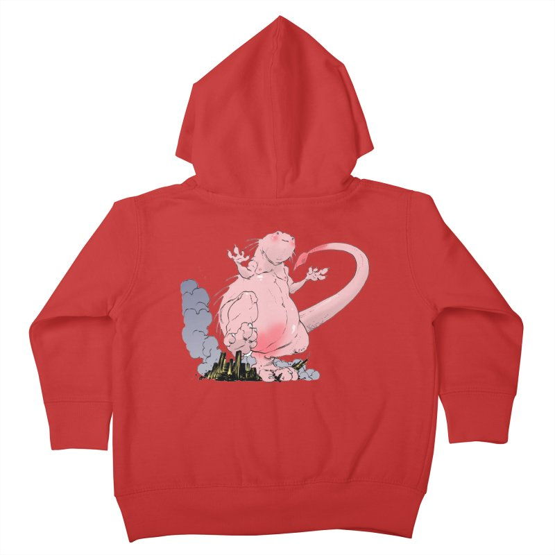 Kill 'em with Cuteness by Tim Seeley Kids Toddler Zip-Up Hoody by Devil's Due Comics
