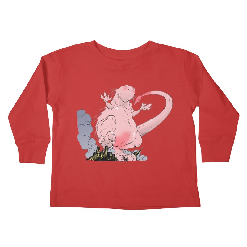 Kill 'em with Cuteness by Tim Seeley Kids Toddler Longsleeve T-Shirt by Devil's Due Comics