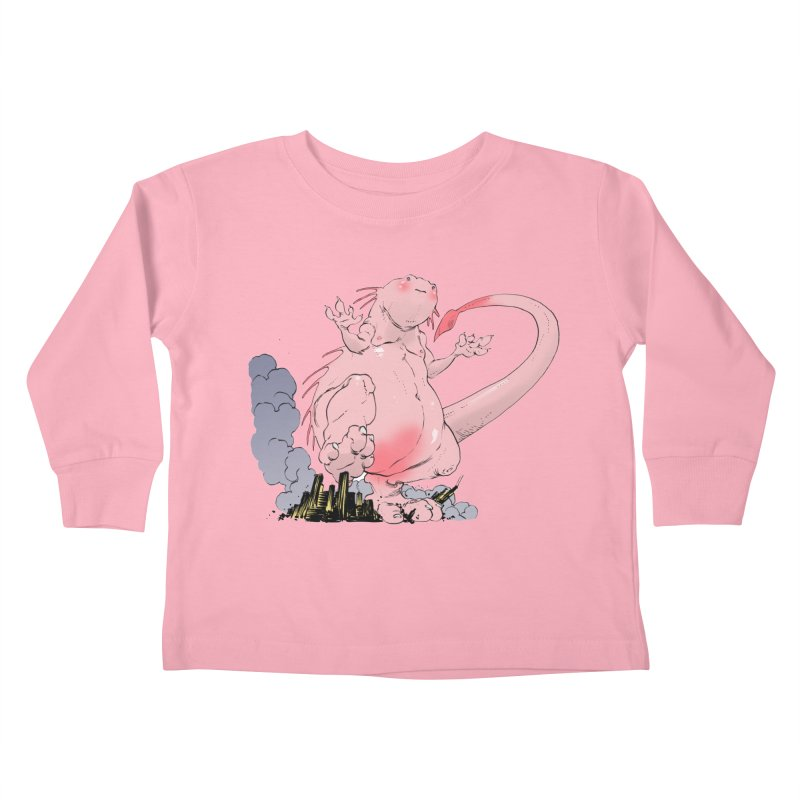 Kill 'em with Cuteness by Tim Seeley Kids Toddler Longsleeve T-Shirt by Devil's Due Entertainment Depot