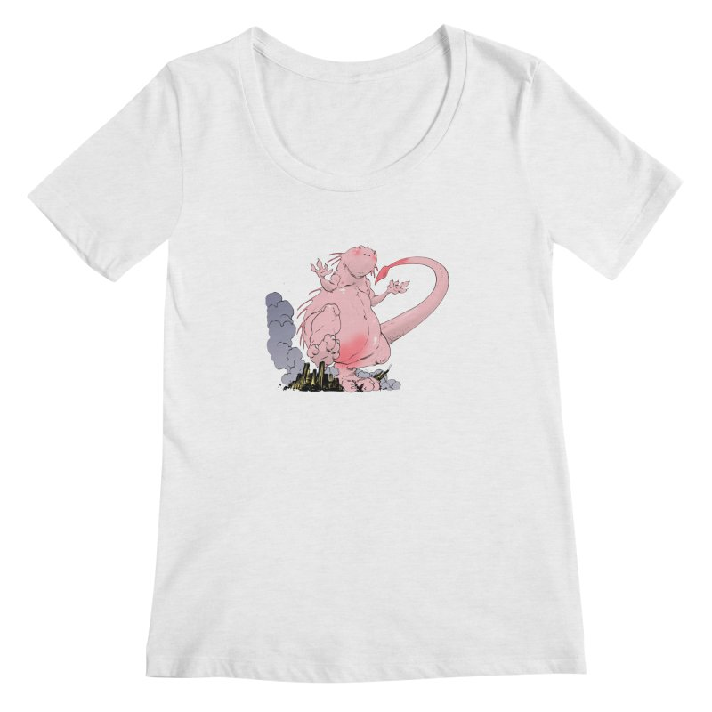Kill 'em with Cuteness by Tim Seeley Women's Scoopneck by Devil's Due Entertainment Depot