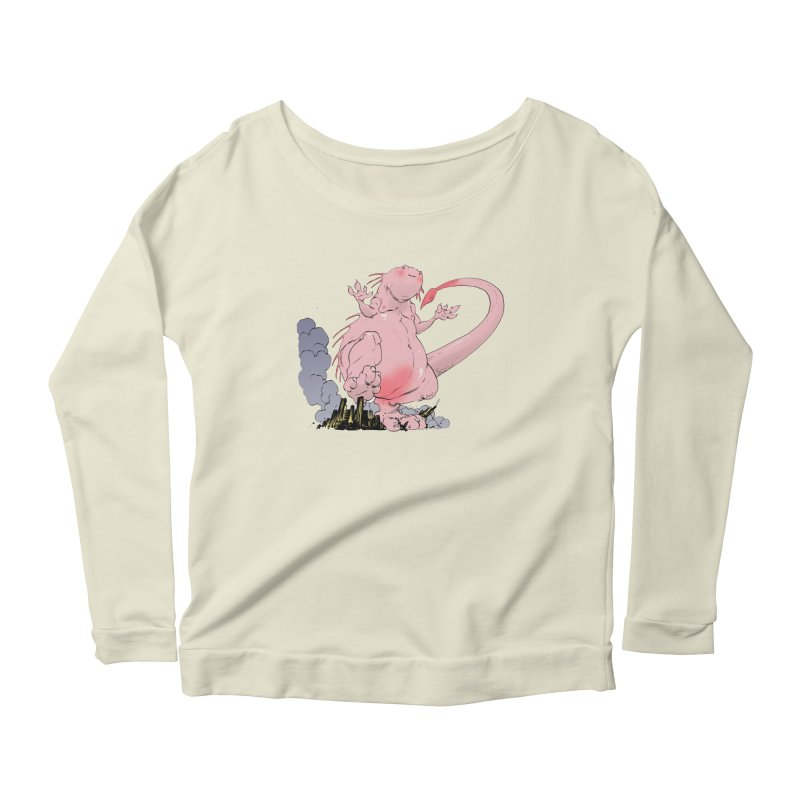 Kill 'em with Cuteness by Tim Seeley Women's Longsleeve Scoopneck  by Devil's Due Entertainment Depot