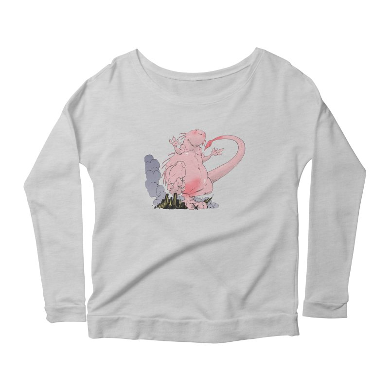 Kill 'em with Cuteness by Tim Seeley Women's Scoop Neck Longsleeve T-Shirt by Devil's Due Entertainment Depot