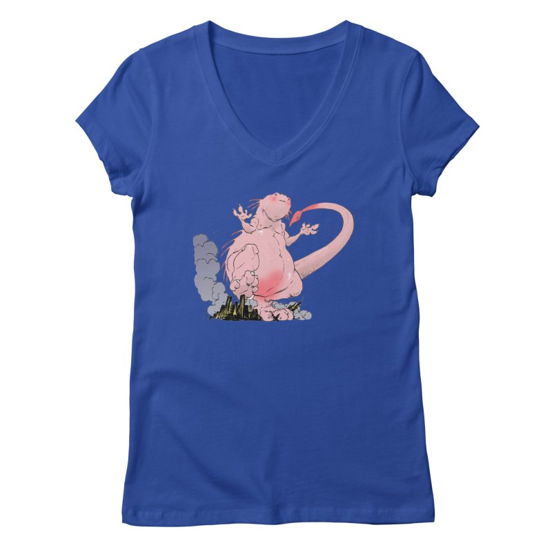 Kill 'em with Cuteness by Tim Seeley Women's V-Neck by Devil's Due Entertainment Depot