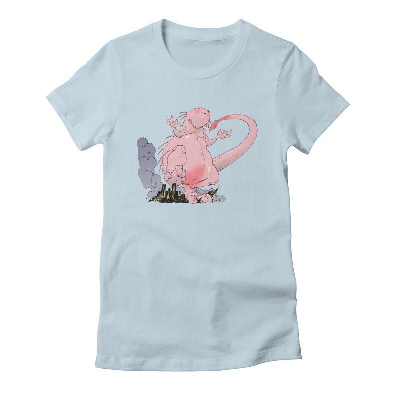 Kill 'em with Cuteness by Tim Seeley Women's Fitted T-Shirt by Devil's Due Entertainment Depot