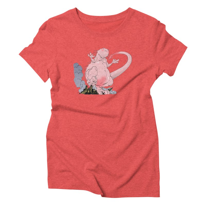 Kill 'em with Cuteness by Tim Seeley Women's Triblend T-Shirt by Devil's Due Entertainment Depot