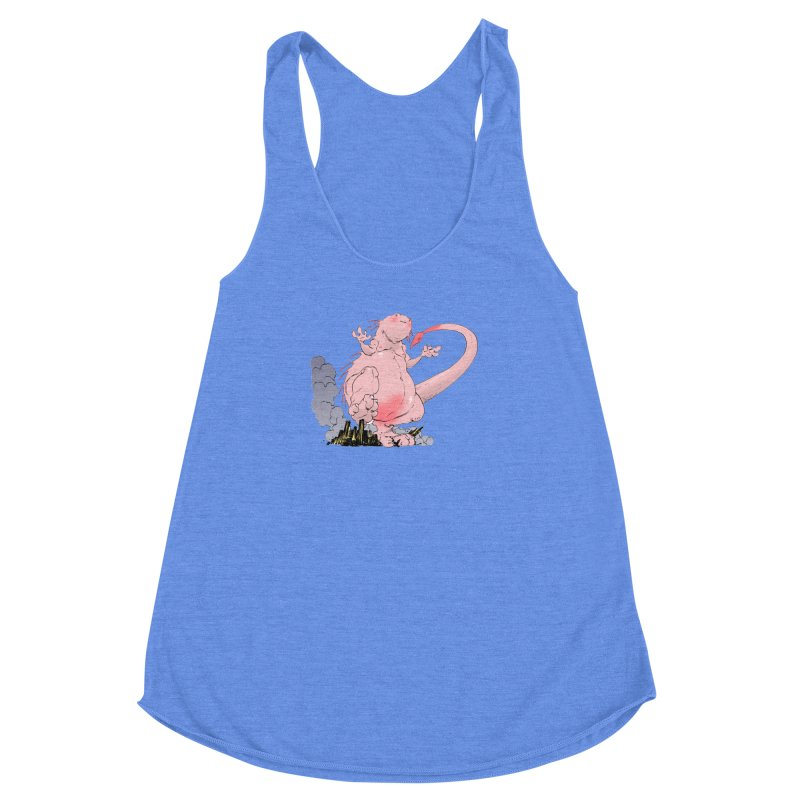 Kill 'em with Cuteness by Tim Seeley Women's Racerback Triblend Tank by Devil's Due Entertainment Depot