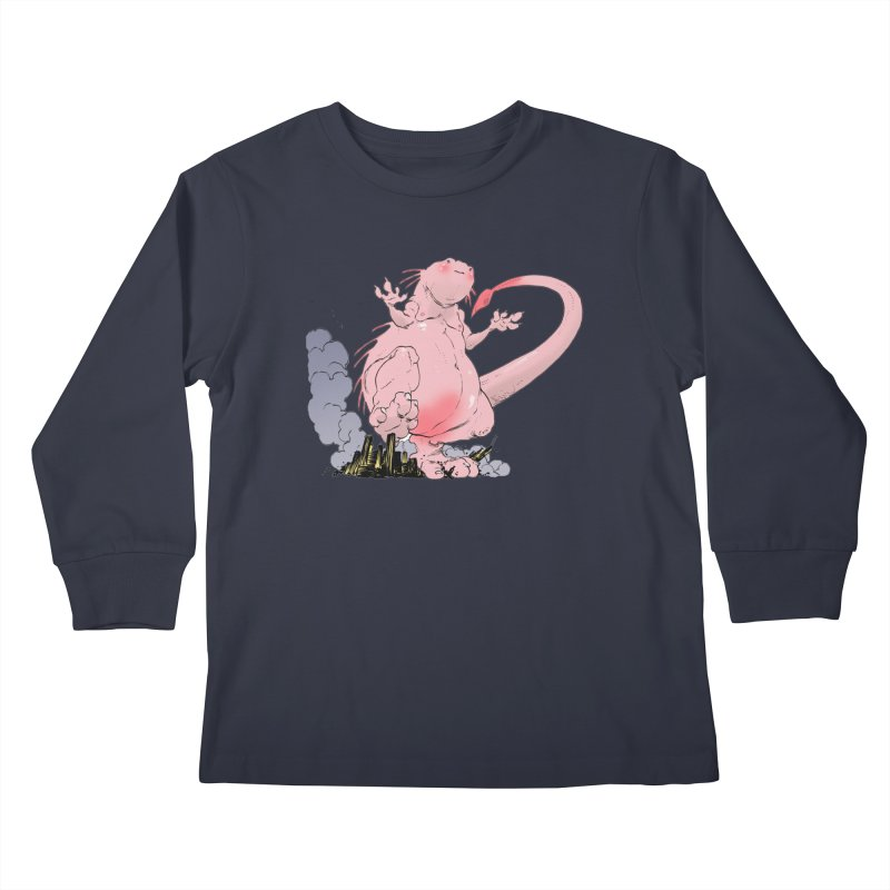 Kill 'em with Cuteness by Tim Seeley Kids Longsleeve T-Shirt by Devil's Due Comics