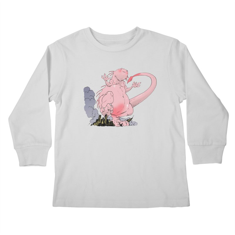 Kill 'em with Cuteness by Tim Seeley Kids Longsleeve T-Shirt by Devil's Due Entertainment Depot