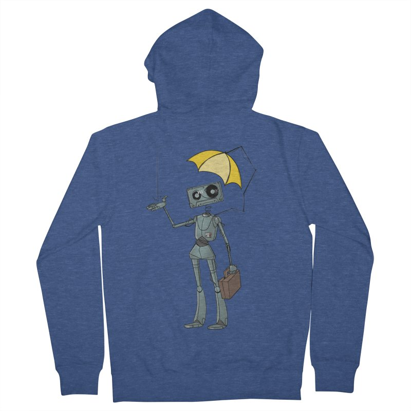 Mr. Mixtape by K Lynn Smith Men's French Terry Zip-Up Hoody by Devil's Due Entertainment Depot