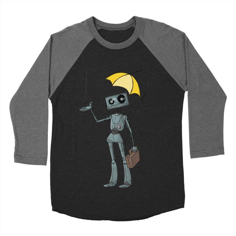 Mr. Mixtape by K Lynn Smith Women's Baseball Triblend Longsleeve T-Shirt by Devil's Due Entertainment Depot
