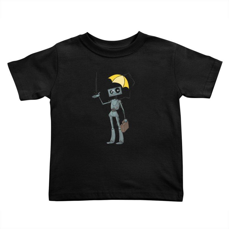Mr. Mixtape by K Lynn Smith Kids Toddler T-Shirt by Devil's Due Comics