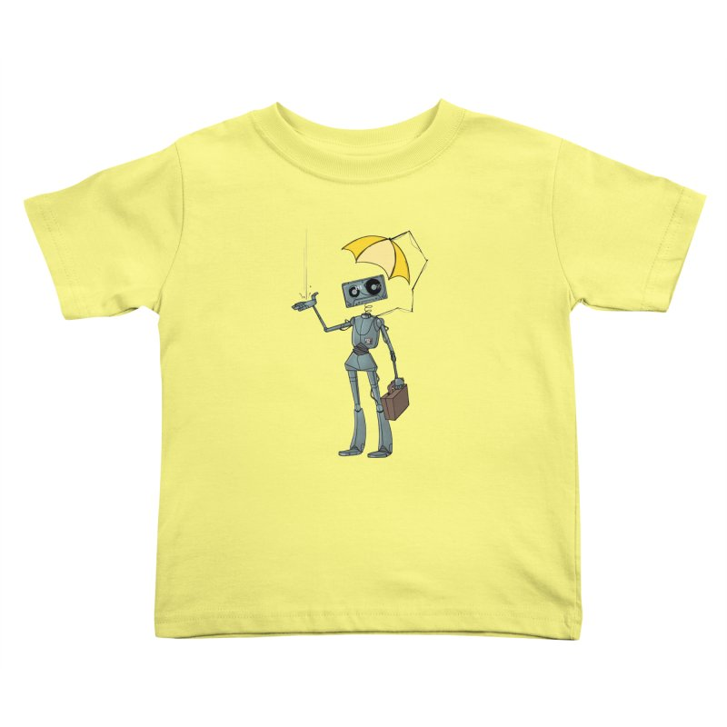 Mr. Mixtape by K Lynn Smith Kids Toddler T-Shirt by Devil's Due Comics
