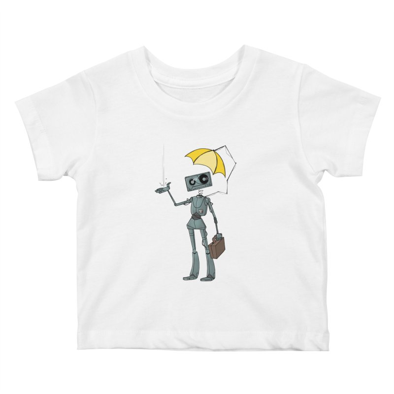 Mr. Mixtape by K Lynn Smith Kids Baby T-Shirt by Devil's Due Comics
