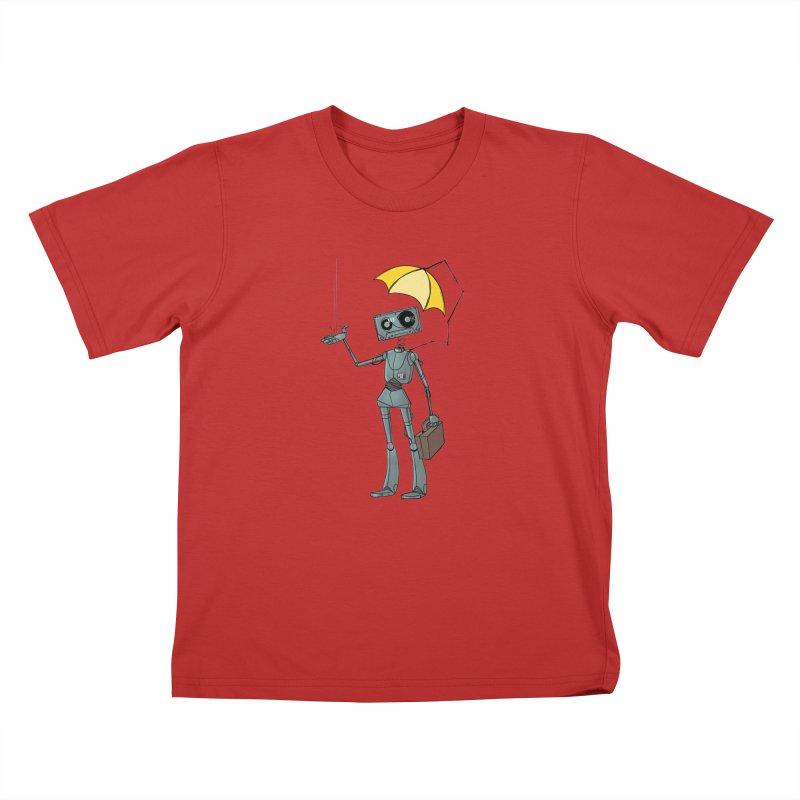 Mr. Mixtape by K Lynn Smith Kids T-Shirt by Devil's Due Comics