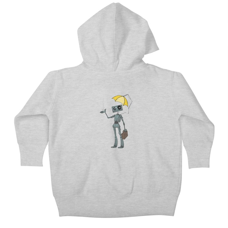 Mr. Mixtape by K Lynn Smith Kids Baby Zip-Up Hoody by Devil's Due Entertainment Depot
