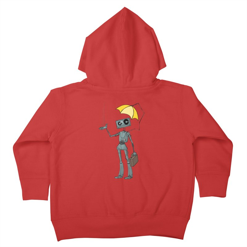 Mr. Mixtape by K Lynn Smith Kids Toddler Zip-Up Hoody by Devil's Due Comics