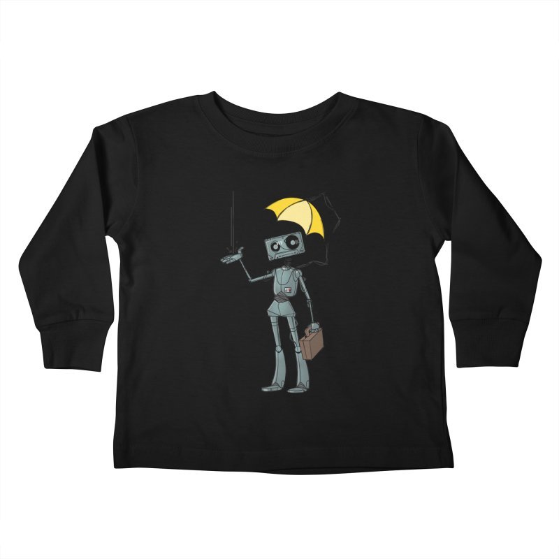 Mr. Mixtape by K Lynn Smith Kids Toddler Longsleeve T-Shirt by Devil's Due Comics