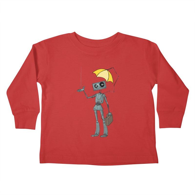 Mr. Mixtape by K Lynn Smith Kids Toddler Longsleeve T-Shirt by Devil's Due Comics