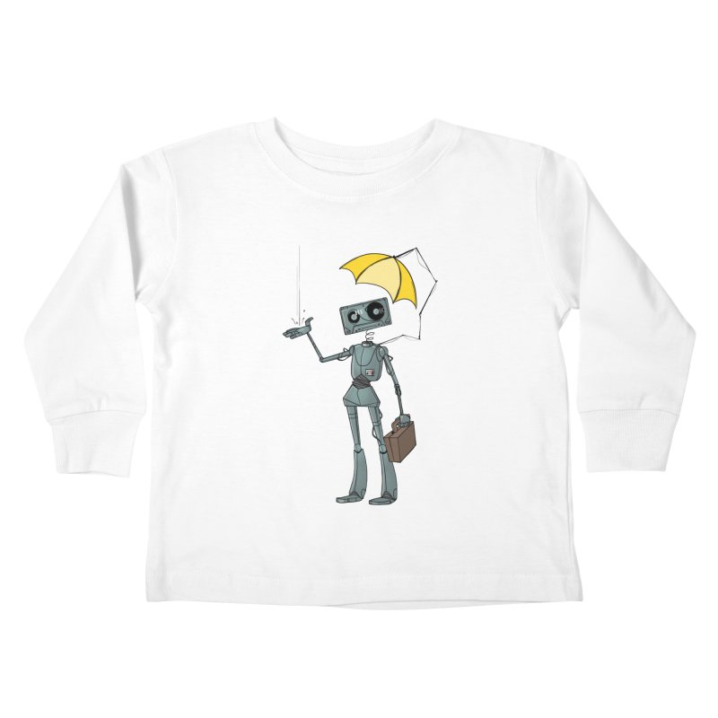Mr. Mixtape by K Lynn Smith Kids Toddler Longsleeve T-Shirt by Devil's Due Entertainment Depot