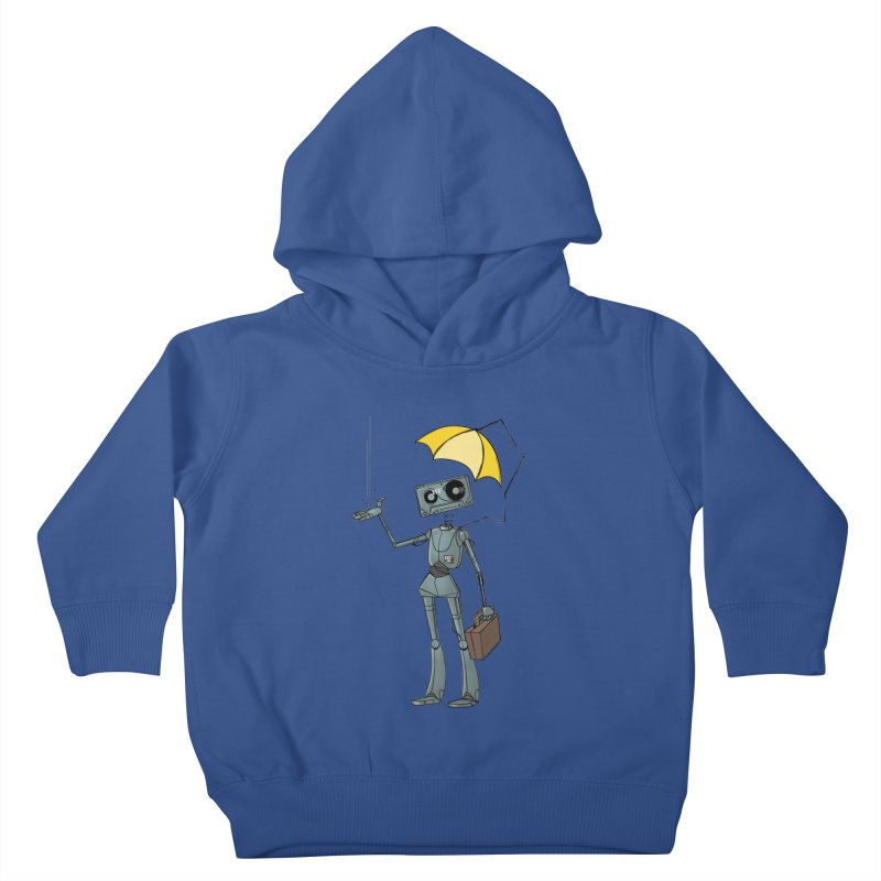 Mr. Mixtape by K Lynn Smith Kids Toddler Pullover Hoody by Devil's Due Comics