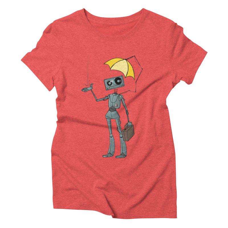 Mr. Mixtape by K Lynn Smith Women's Triblend T-shirt by Devil's Due Entertainment Depot