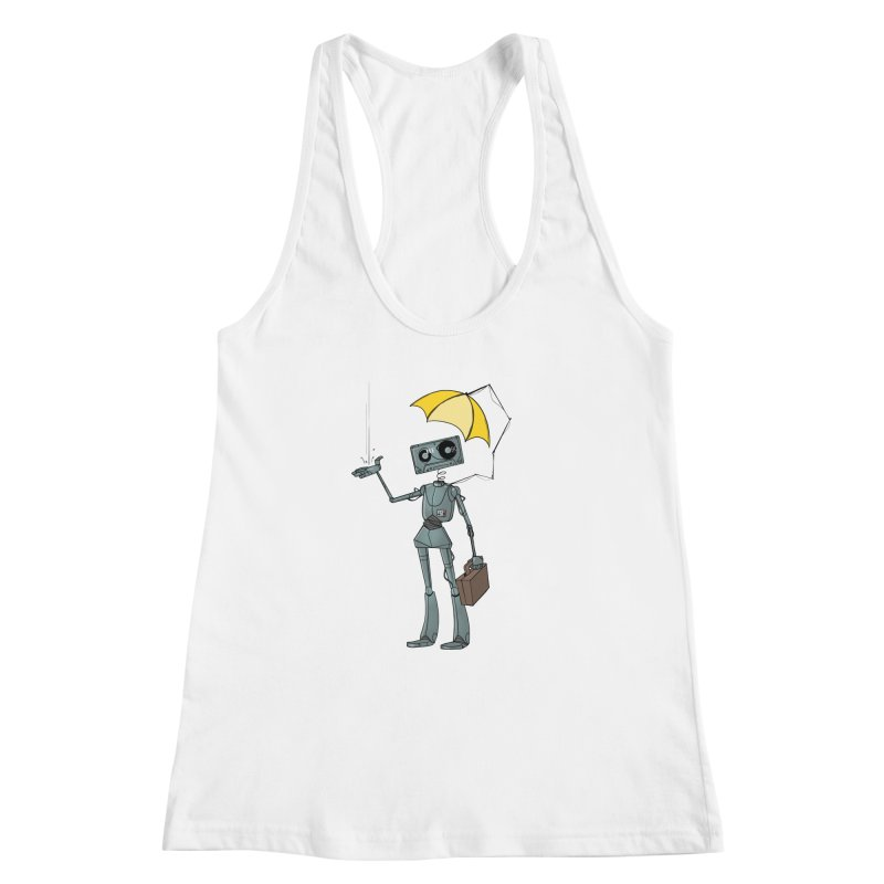 Mr. Mixtape by K Lynn Smith Women's Racerback Tank by Devil's Due Entertainment Depot