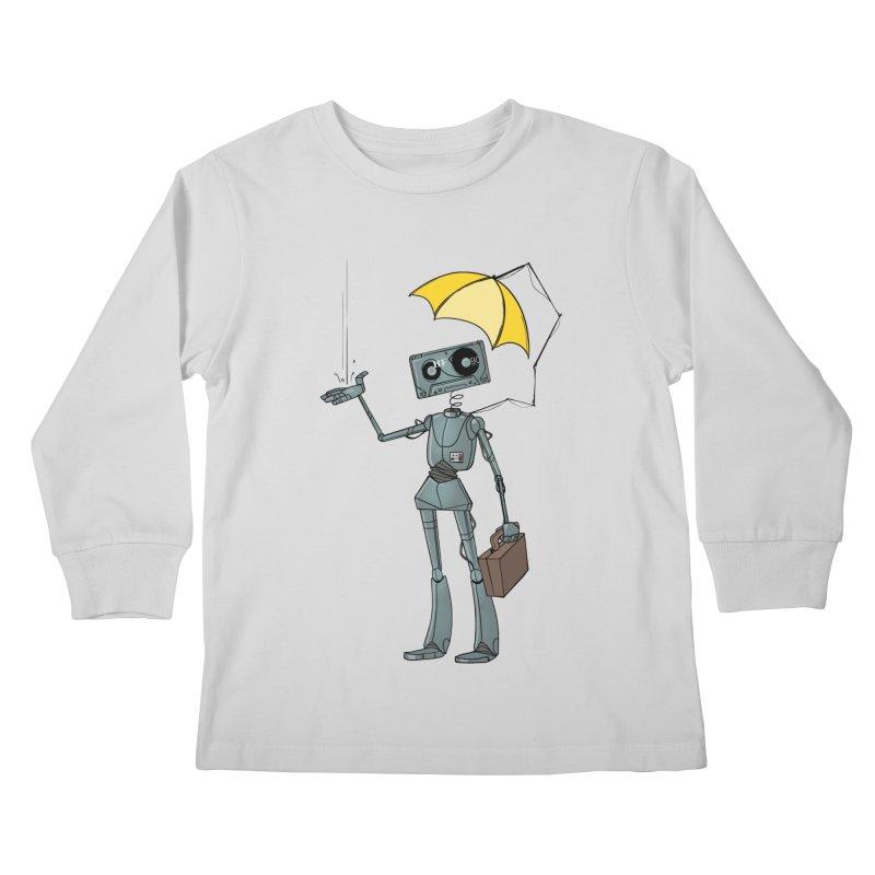 Mr. Mixtape by K Lynn Smith Kids Longsleeve T-Shirt by Devil's Due Entertainment Depot