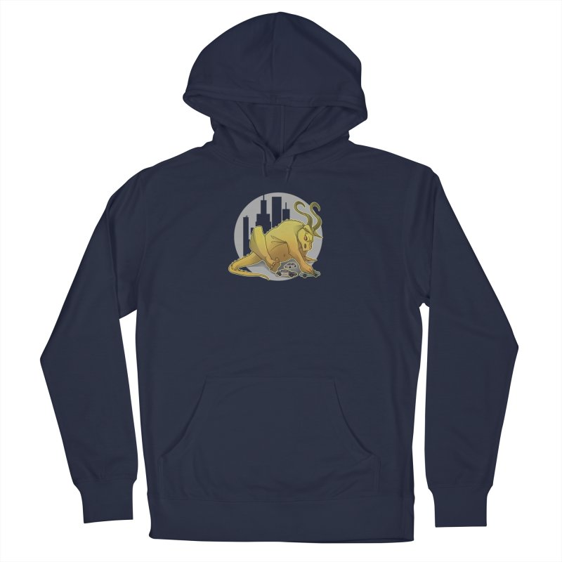 Vroom vroom! by K Lynn Smith Men's French Terry Pullover Hoody by Devil's Due Comics
